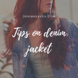 Tips ON SHOPPING FOR DENIM Jackets